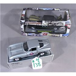 TWO ANNIVERSARY DIE CAST CARS