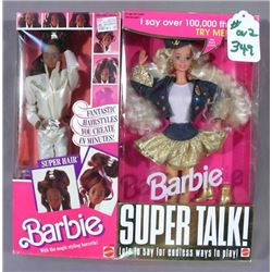 TWO VINTAGE MATTEL BARBIES