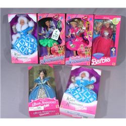 GROUP OF VINTAGE MATTEL BARBIE & BECKY DOLLS