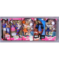 GROUP OF VINTAGE MATTEL SPORT BARBIES
