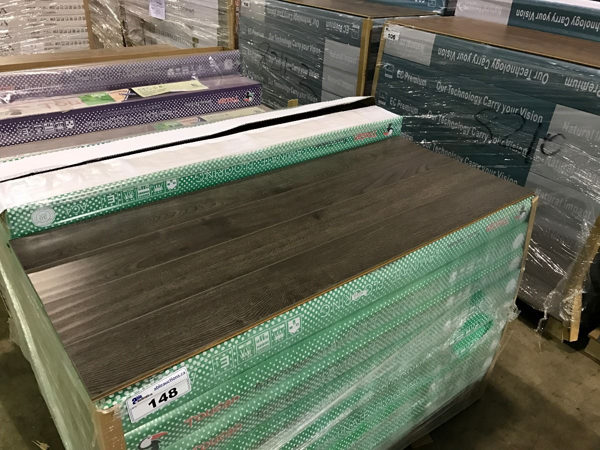 Image 1 Pallet Of Toucan Tf3104 Hand Scraped Laminate Flooring