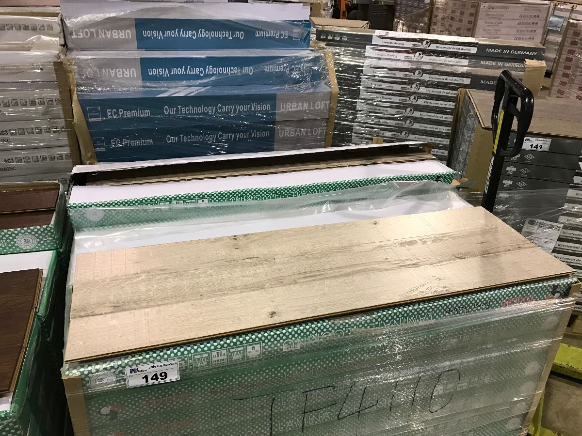 Image 1 Pallet Of Toucan Tf4110 Heritage Laminate Flooring