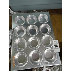 2 Aluminum Muffin Pans - 2 Times the Money