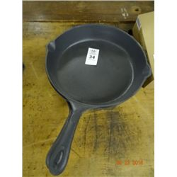 2 Large Cast Iron Pans - 2 Times the Money