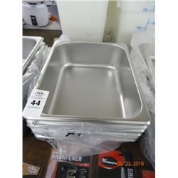 "6 - 1/2 Size x 4"" Drop In Pans - 6 Times the Money"