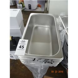 "6 - 1/3 Size x 4"" Drop In Pans - 6 Times the Money"
