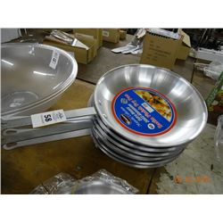 "6 - 12"" Aluminum Fry Pans - 6 Times the Money"