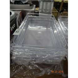 "6 - Full Size x 4"" Cambro Drop Ins - 6 Times the Money"