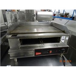 "Cecilware Electric 24"" Flat Grill & Broiler"