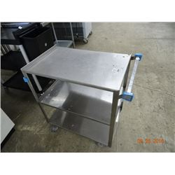 S/S 3-Shelf Cart
