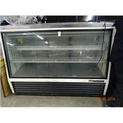 True 6' Ref. Deli Case w/S/S Top