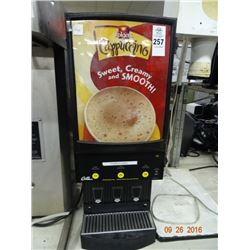 Curtis Dry Mix Cappuccino Machine