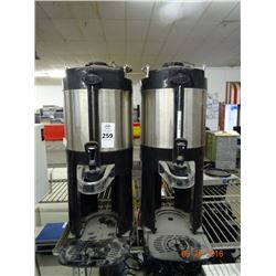 2 Bunn S/S Hot Beverage Dispensers - 2 Times the Money