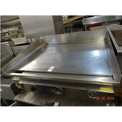 Gas 3' Flat Grill - Needs 2 Knobs