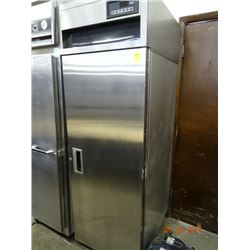 S/S Single Door Refrigerator. Remote Comp. - Was running cold when removed from restaurant.