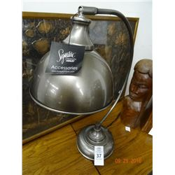 Pewter Finish Table Lamp
