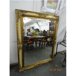 Guilded Frame Beveled Mirror