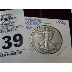 1946 Walking Liberty Half