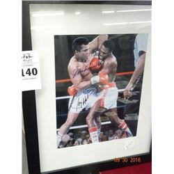 Muhammad Ali Autographed Framed Picture