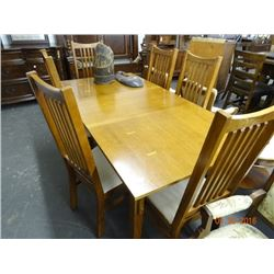 mission style oak dining room chairs 6 bay area auction services