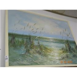 "Painting B. Duggan ""The Beach"""