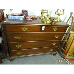 Mahogany 2 Over 3 Dresser