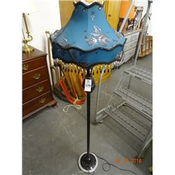 Art Glass Floor Lamp w/?? Shade