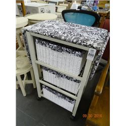 Ironing Board Cart w/Storage