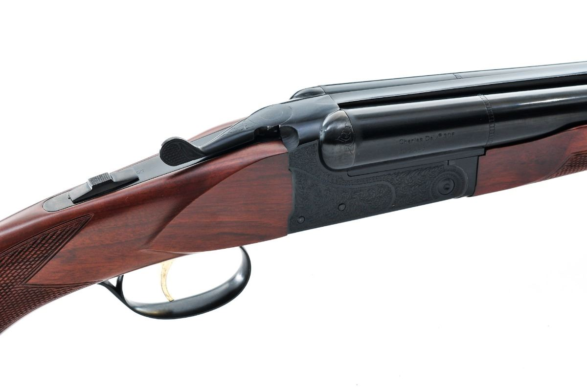 ... Image 5 : Charles Daly Model 306 Side-by-Side Shotgun ...