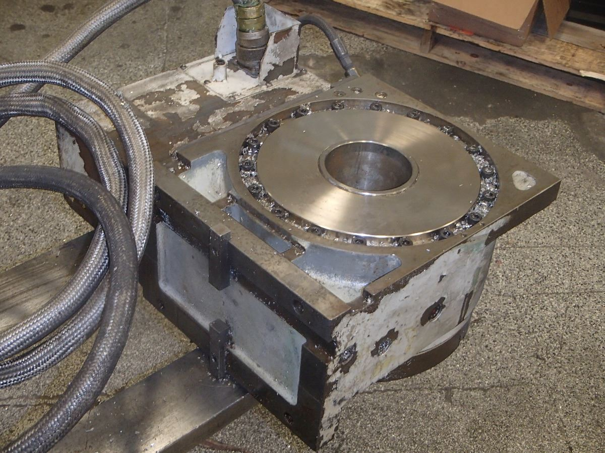 12 mazak rotary table btm industrial for 12 rotary table