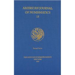 Recent Volumes of the American Journal of Numismatics