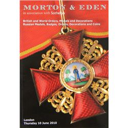 Morton & Eden Catalogues of Military Medals, &c.