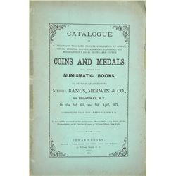 Cogan's Montreal Sale, with a Fine Photographic Plate