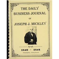 Joseph J. Mickley's Business Journal