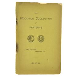 The Woodside Pattern Sale, with Plates