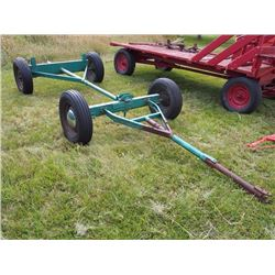 Rubber Tired Wagon W/ Steel Chasis