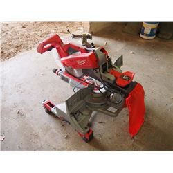 "12"" Milwaukee Compound Mitre Saw W/ Stand"
