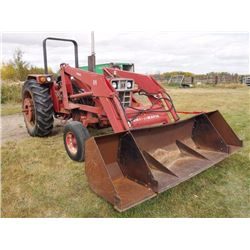 "1985 Diesel International 784, 3PTH, Dual PTO,   W/ 2250 Loader Mount-o-matic, 18"" Extention. Comes"