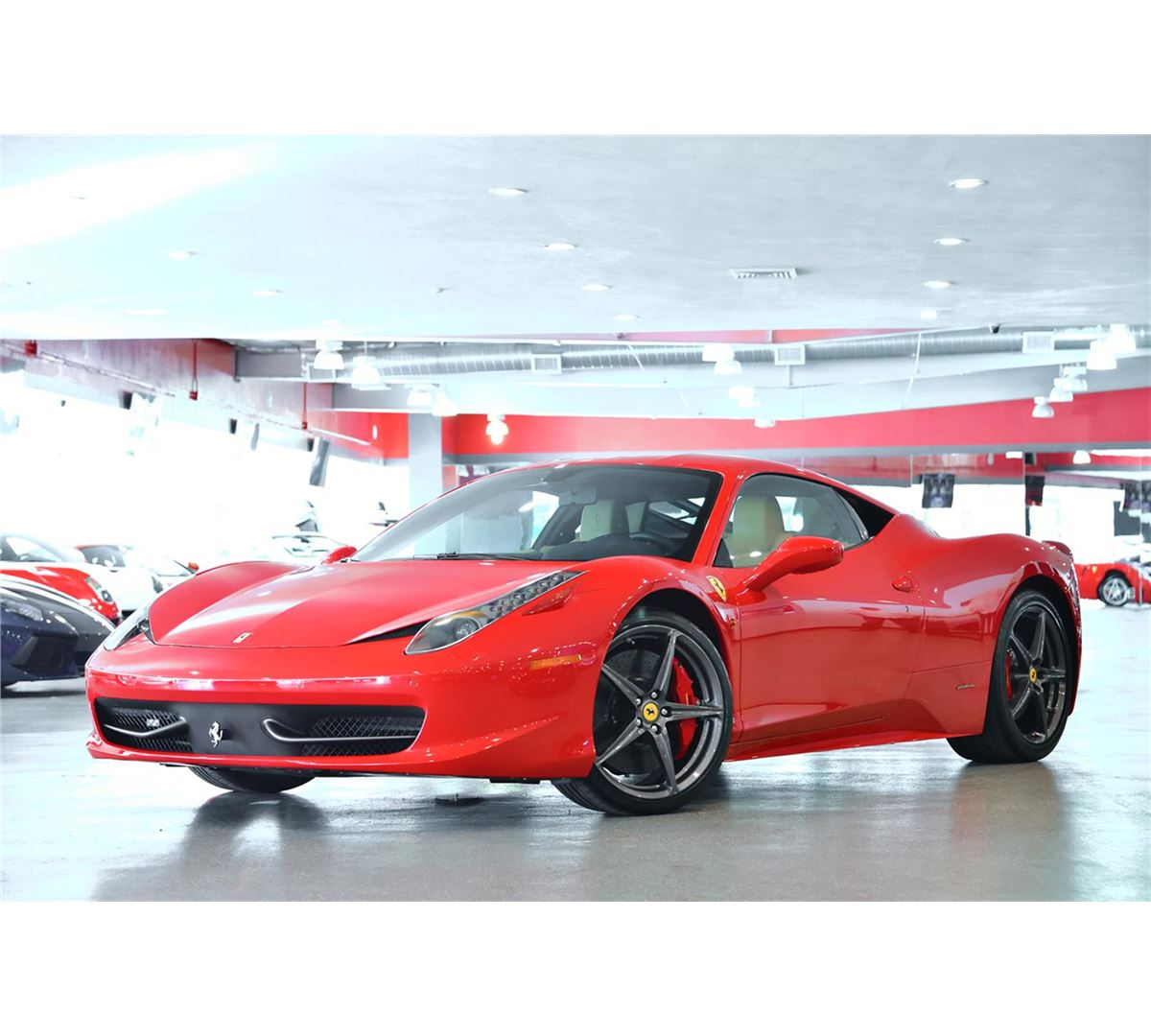 2010 Corsa Red Ferrari 458 Italia Coupe