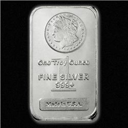 Silver Morgan Design Silver Bar .999