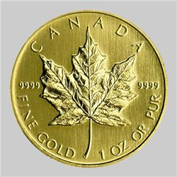 Gold Maple Leaf - 1 oz Pure 9999- Random Year