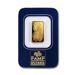 2.5 Gram Pamp Suisse Ingot on Card