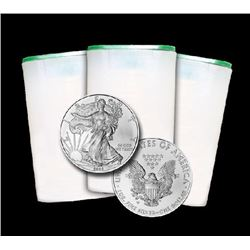 (60) Silver Eagles in Mint Tubes