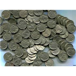 (100) Buffalo / Indian Head Nickels