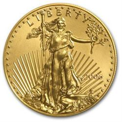1 oz. Gold US Minted Eagle Bullion - Random