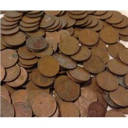 (400) Wheat Cents