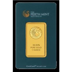 1 oz. Gold Pamp / Perth / Credit  Suisse Ingot