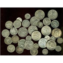 Lot of $10 Face Value 90% Silver - Better