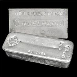100 oz. Silver Bar - Random Maker