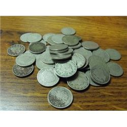 Lot of 50 V Nickels Circulated